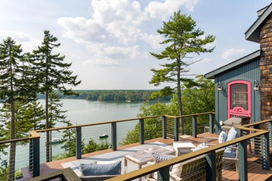 Video of the Week: Take a Virtual Tour of a Waterfront Escape in West Bath, Maine